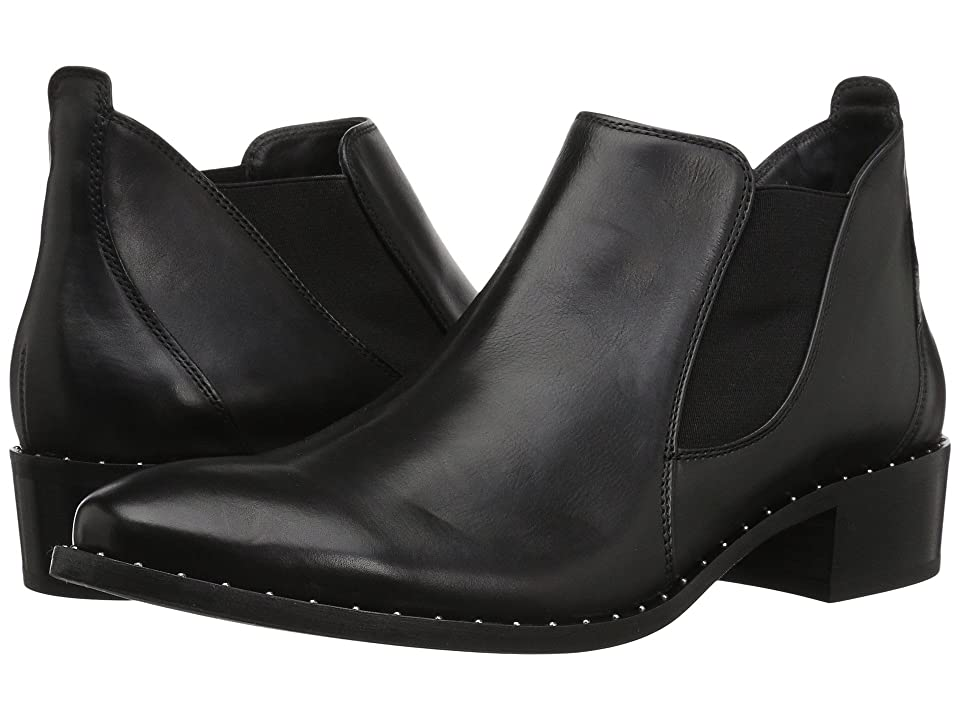 Paul Green Nate (Black Leather) Women