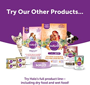 Halo Liv-A-Littles Freeze Dried Dog and Cat Treats Single Protein