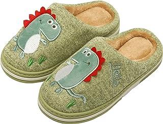 INMINPIN Zapatillas de Estar por Casa para Niñas Niños Caliente Pelusa Pantuflas de Invierno Lindo Zapatos Interior de Alg...