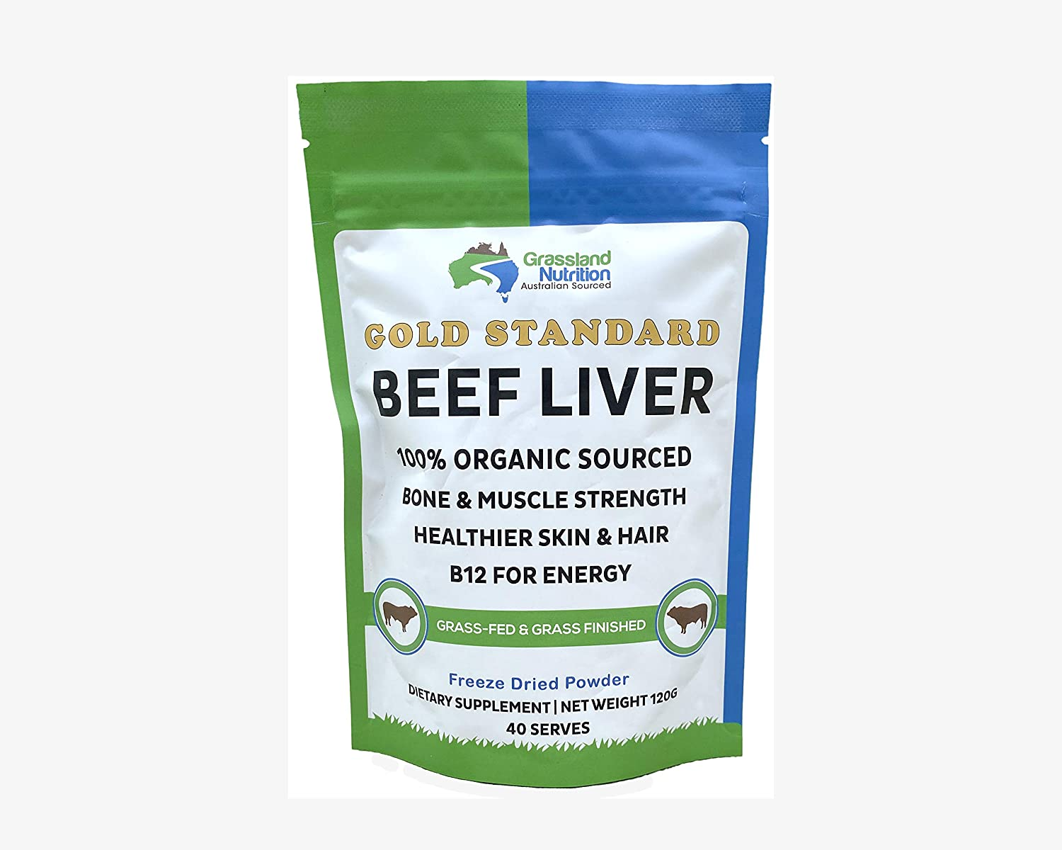Grassland Nutrition Organic Grass Fed Selling and selling Liver Beef Freeze Indefinitely Dried