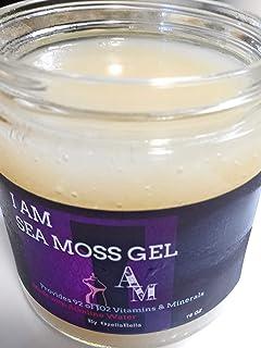 Vegan Vitamin & Mineral Rich, Immunity Boosting, Organic Digestive Detox, Promoting Weight Loss & Energy SEA Moss Gel Perf...