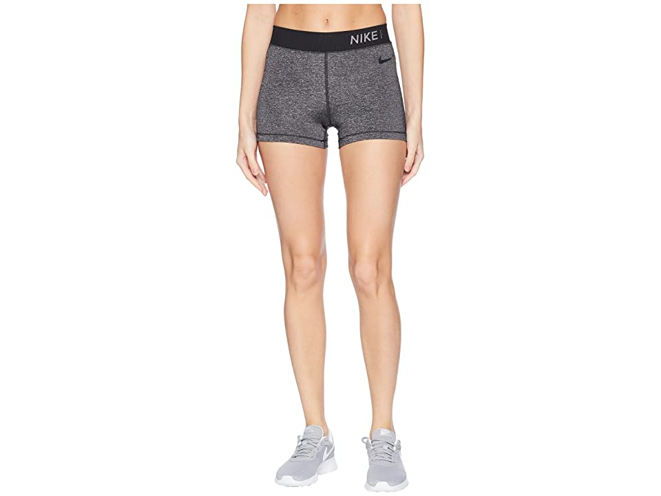 Nike Hypercool Cool Shine Shorts 3 (Black/Clear) Women