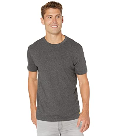 RVCA Solo Label Short Sleeve T-Shirt (Black) Men