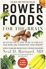 Power Foods for the Brain: An Effective 3-Step Plan to Protect Your Mind and Strengthen Your Memory Paperback