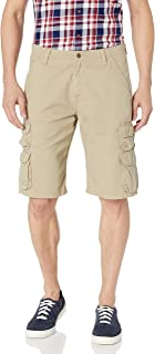 Authentics Men's Premium Relaxed Fit Twill Cargo Short