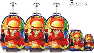Kids'School bag trolley Rolling travel bag ONE PIECES set of 3 17inch 3-12years olds,3 SETS