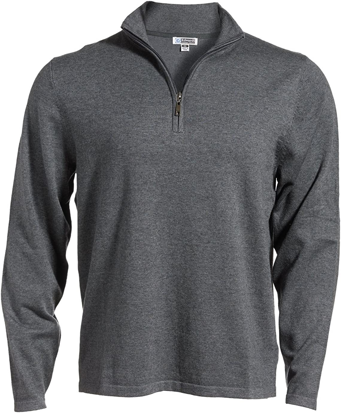 Edwards Long Sleeve 1 4 Gauge Ranking TOP7 Sweater Zip Fine Purchase