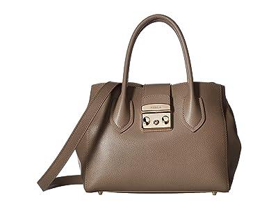 Furla Metropolis Small Tote (Sabbia) Tote Handbags