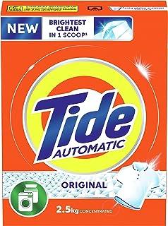 Tide Automatic Laundry Powder Detergent, Original Scent, 2.5 Kg