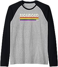 Vintage 80's Style Richmond VA Gay Pride Month Raglan Baseball Tee
