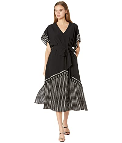 Ted Baker Becci Scarf Print Midi Dress Women