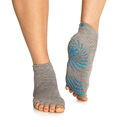 a22a1be69 Gaiam Grippy Yoga Socks for Extra Grip in Standard or Hot Yoga