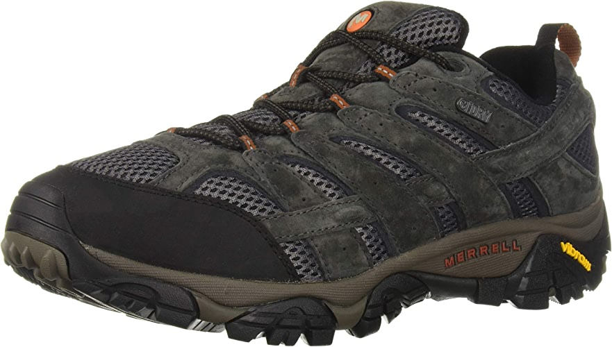 Merrell Moab 2 Waterproof chaussures - Men's Beluga 9.5 Wide