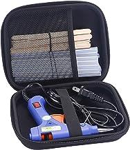 Hot Glue Gun with Glue Sticks, Mini Hot Melt Glue Gun Kit with 20 Pcs Glue Sticks and 20 Wood Craft Sticks, Melting Glue G...