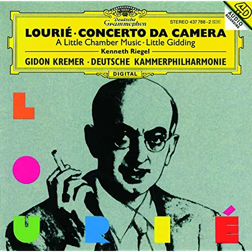 Risultato immagini per Lourié Kremer cd
