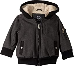Rosen Wool Blend Bomber Jacket Sherpa Lined (Toddler)