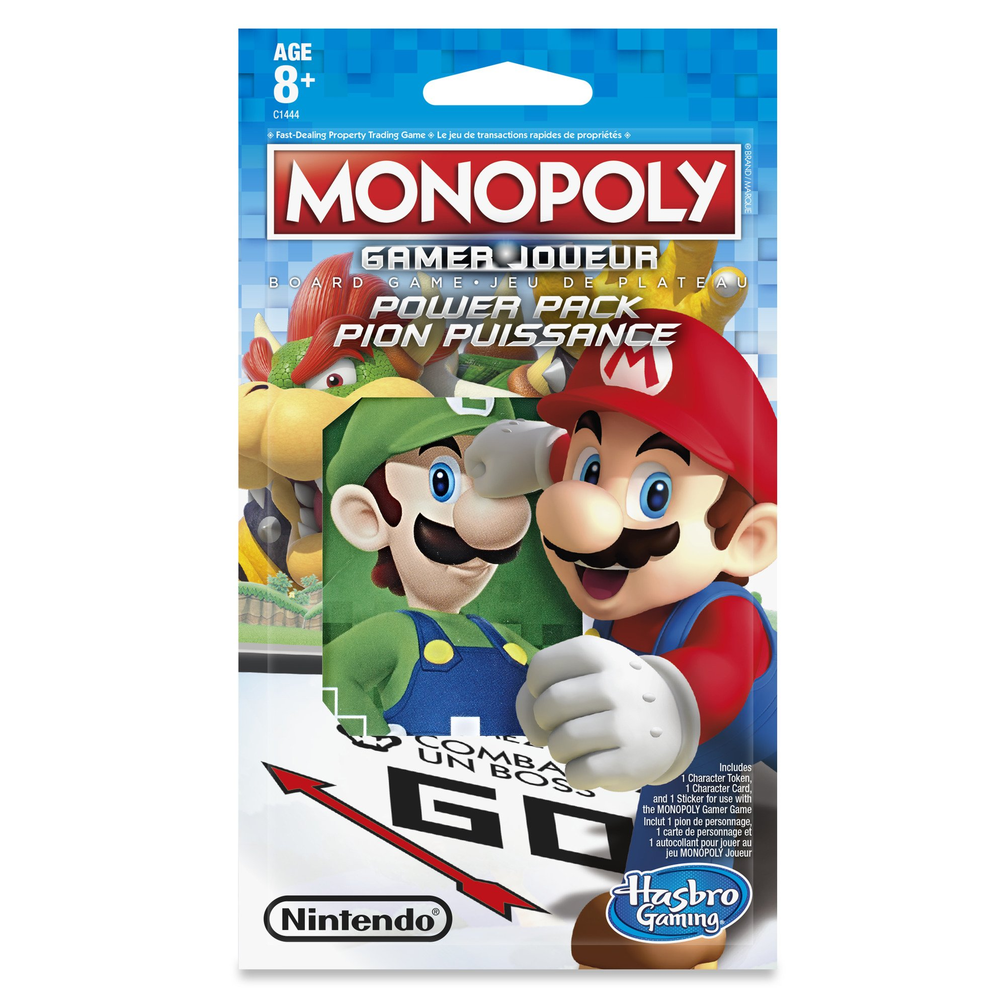 Monopoly Gamer Edition Power 1-Pack (aleatorio) , color/modelo surtido: Amazon.es: Juguetes y juegos