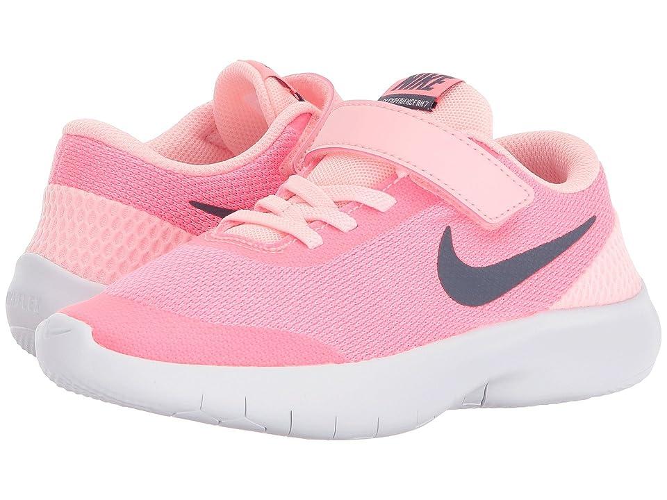 Nike Kids Flex Experience Run 7 (Little Kid) (Arctic Punch/Light Carbon/Sunset Pulse) Girls Shoes