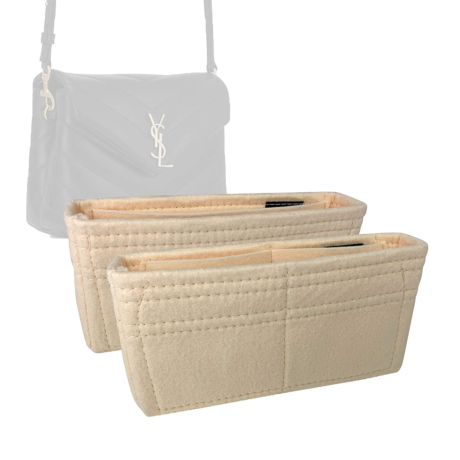 Challenge the lowest price of Japan ☆ Bag Organizer for LouLou Toy Set Felt Premium - Our shop most popular of 2 Hand