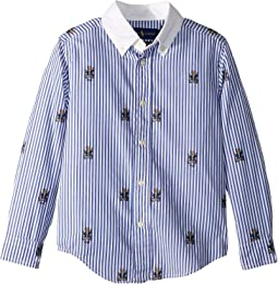 Polo Bear Stretch Cotton Shirt (Little Kids/Big Kids)