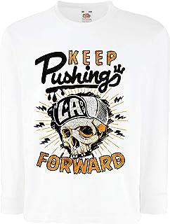 lepni.me キッズボーイズ/ガールズTシャツ Keep Pushing Forward -