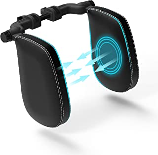 FLIPLINE Kopfstütze Auto Kinder [SuperSleep] Bequemes Reisefeeling für Kinder & Erwachsene   schnelle Installation in 2 Minuten ohne Schraubenzieher   Nackenstütze Nackenkissen Autokissen