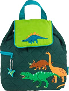 Stephen Joseph Kids Quilted Backpack, Dino, one size