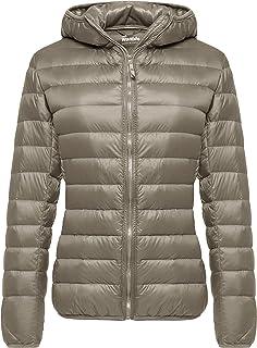 Wantdo Women's Hooded Packable Ultra Light Weight Short...