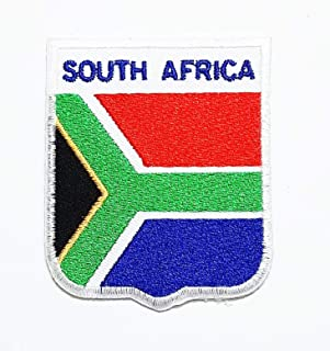 South Africa Flag Patch National Flag Patch National Flag Patch Craft Embroidered Patches for Bags Jacket Iron on Clothes Jeans Kids Appliques Badge