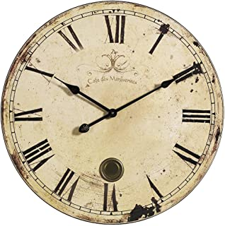 Home Decorators Collection Aged Oversized Wall Clock, 23