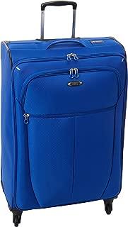 Luggage Mirage Superlight 28-Inch 4 Wheel Expandable Upright, Maritime Blue, One Size