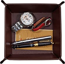 mens leather catchall tray