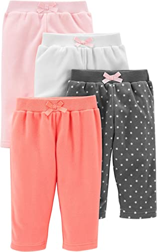Plum Newborn Baby Girls Casual Elastic Waist Pants size 0 Colour Pink