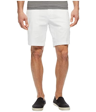 Nautica Classic Fit Stretch Deck Shorts (Bright White) Men