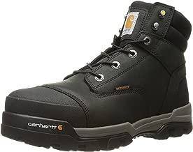 حذاء Carhartt رجالي أسود مقاوم للماء بأصابع مركبة CME6351 صناعي