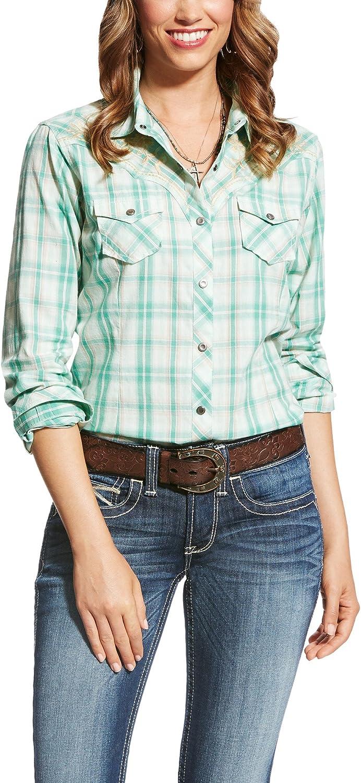 Ariat Womens R.e.a.l Snap Shirt Button Down Shirt