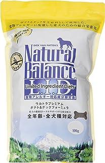 ナチュラルバランス ポテト&ダック アレルギー専用 (全犬種/全年齢対応) 1kg