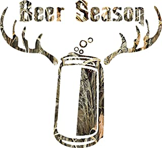 Beer Season Camo Sticker Decal