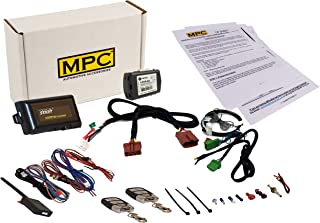 5-Button Keyless Entry Remote Start Kit for 2007-2013 Acura MDX - with Bypass - Includes T-Harness - Plug-n-Play