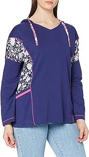Joe Browns Women's Loungewear Hoody Hooded Sweatshirt, A-Navy