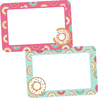 Avery Premium Donut Birthday Party Name Tags, No Lift No Curl, 36 Handwriteable Name Stickers