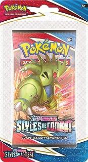 Pokémon - Booster Version Blister - Epée et Bouclier Styles de Combat (EB05) - Jeu de société - Jeu de Cartes à Collection...