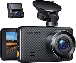 APEMAN 1440P&1080P Dual Dash Cam, 1520P max, Support 128GB, Front and Rear Camera for..