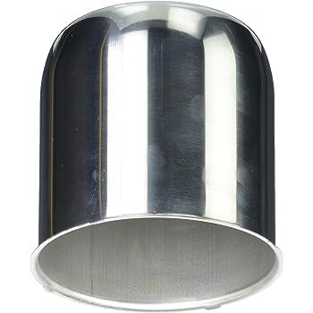 Southwest Wheel 2 Chrome Trailer Wheel Lug Nuts 12 3.19 Open Ended Center Caps /&