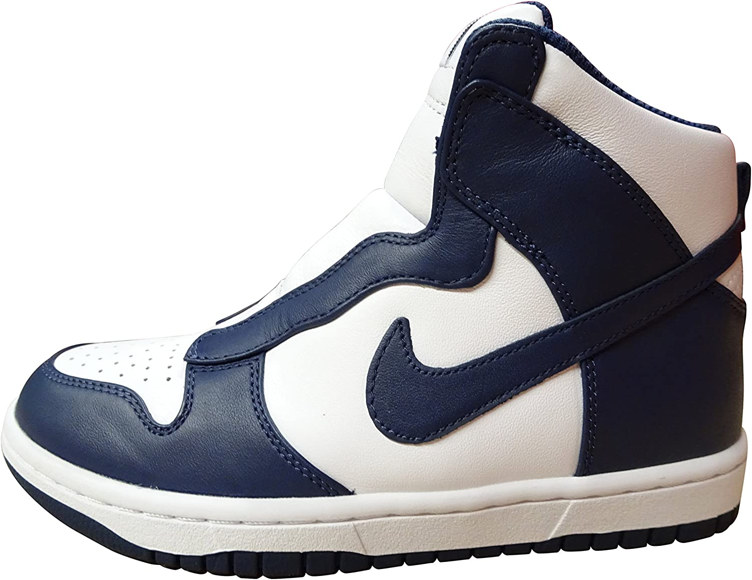 Nike Womens Dunk LUX SACAI Hi Top Trainers 776446 Sneakers shoes (US 9, Midnight Navy Midnight Navy 441)