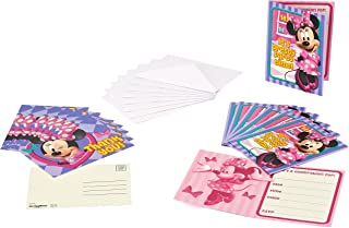 American Greetings Minnie Mouse Party Supplies Invite and Thank You Combo Pack, 8-Count