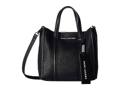 Marc Jacobs Mini Tag Tote (Black) Handbags