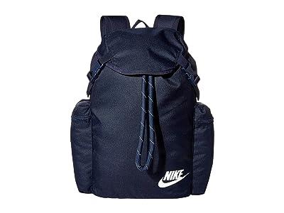 Nike Heritage Rucksack (Obsidian/Obsidian/White) Backpack Bags