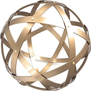 Pentasfera (genesa 6 cerchi), Purificatore energia, Dispositivo orgonico 32 cm diametro, Bronzo