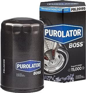 Purolator PBL20195 Black Single PurolatorBOSS Maximum Engine Protection Spin On Oil Filter